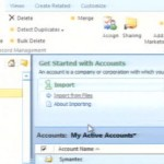 Looking ahead at Microsoft Dynamics CRM 5: screenshots from PDC