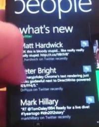 Windows Phone 7.5 Twitter integration
