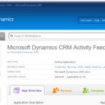 Download the Activity Feeds solution for Microsoft Dynamics CRM 2011 from the Dynamics Marketplace