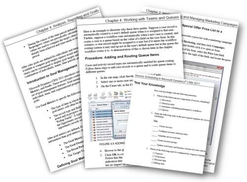 Microsoft Dynamics CRM 2011 Applications courseware