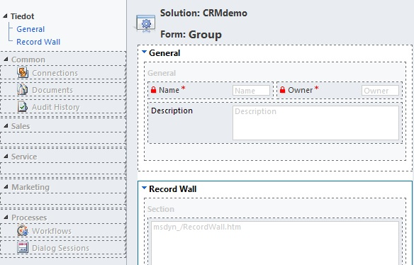 Make CRM Activity Feeds easier to follow by creating custom groups
