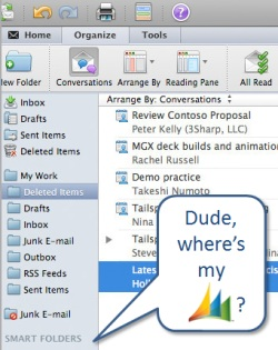 Outlook 2011 for Mac: sorry, no Microsoft Dynamics CRM client