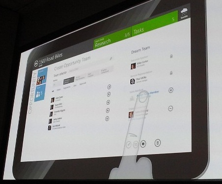 Microsoft Dynamics CRM and Metro UI
