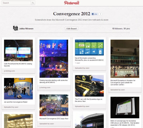 See pictures from Microsoft Convergence 2012 on Pinterest