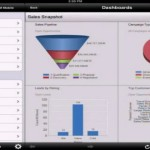 Microsoft Dynamics CRM Mobile iPad dashboards