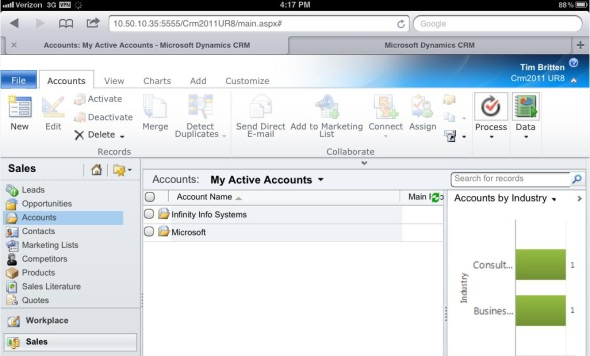 More rumors on Dynamics CRM browser and mobile support