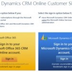Signing up for CRM Online in the Microsoft Online Services era