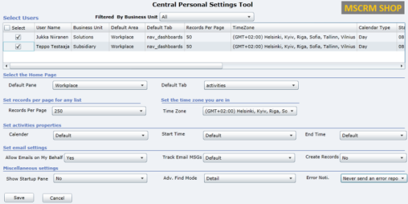 CRM2011_User_Settings_Utility
