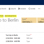 Information Overload: Cleaning Up CRM 2013 Forms