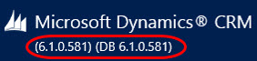 Update Rollups, Service Packs, Major Releases: Understanding Dynamics CRM Versioning