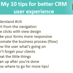 10 Tips for Designing a Great User Experience in Dynamics CRM