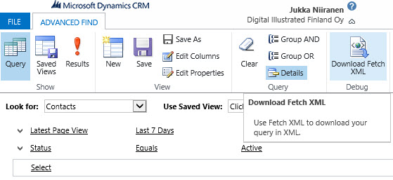 CRM_AdvancedFind_FetchXML