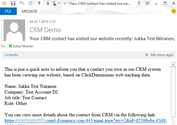 CRM_notification_website_visit
