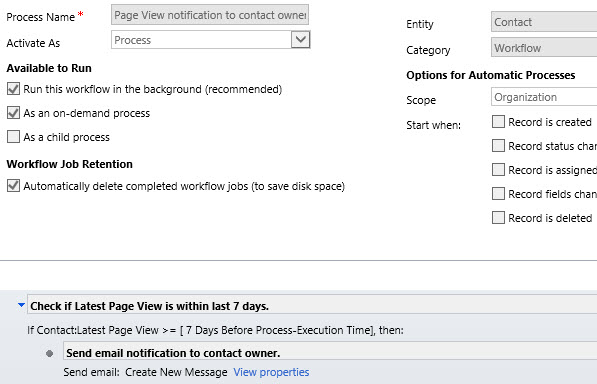 CRM_page_view_notification_workflow
