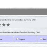 Voice of the Customer: Conditional Questions