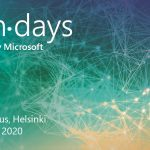 My agenda for TechDays Finland 2020